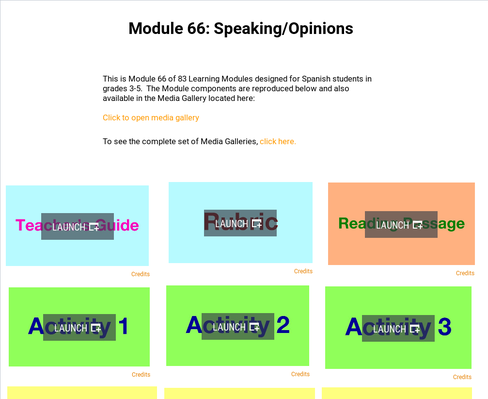 Speaking: Opinions | Supplemental Spanish Module 66