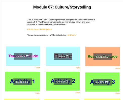 Culture: Storytelling | Supplemental Spanish Module 67