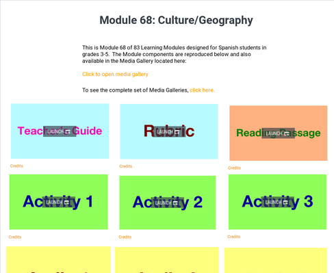 Culture: Geography | Supplemental Spanish Module 68
