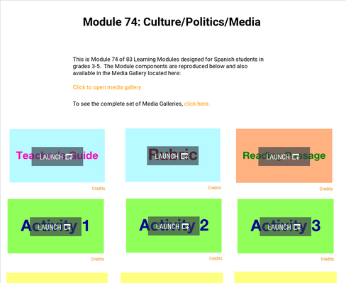 Cultural: Politics and Media | Supplemental Spanish Module 74