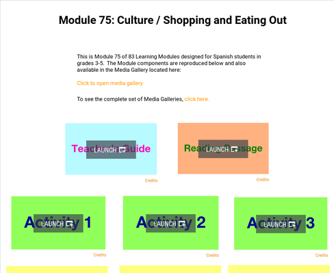 Culture: Shopping and Eating Out | Supplemental Spanish Module 75