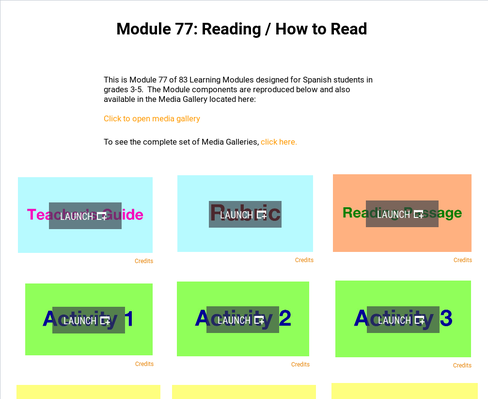 Reading: How to Read | Supplemental Spanish Module 77