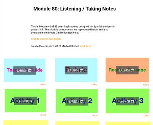 Listening: Taking Notes | Supplemental Spanish Module 80