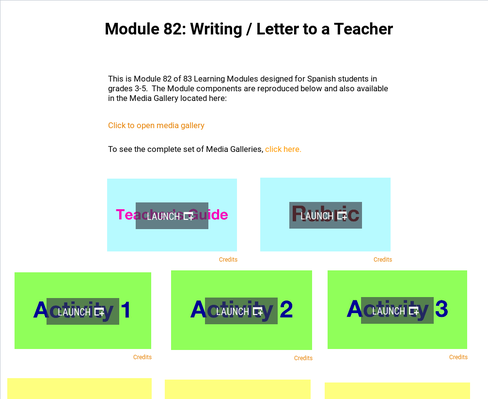 Writing: Letter to a Teacher | Supplemental Spanish Module 82