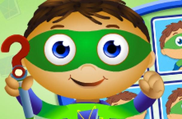Number Memory | Super Why!