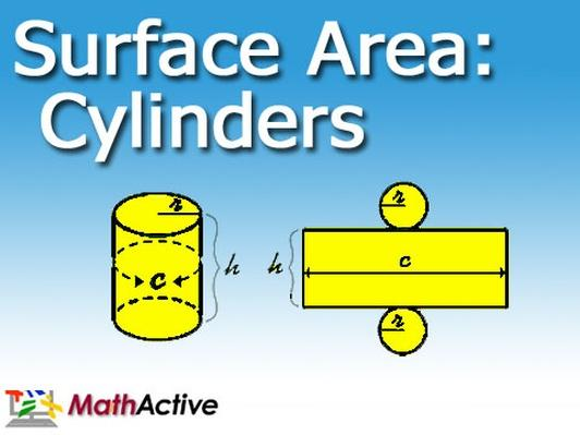 Surface Area of Cylinders | Spanish Voice