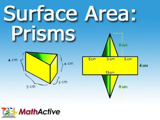 Surface Area of Prisms | Navajo Voice