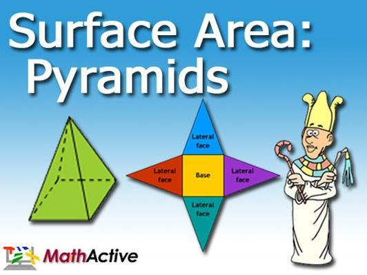 Surface Area of Pyramids | Spanish Voice