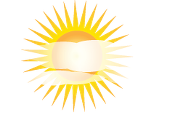 Weather - Sun and Clouds | Clipart