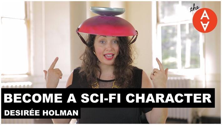 Become a Sci-Fi Character: Desirée Holman | The Art Assignment