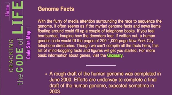 Genome Facts