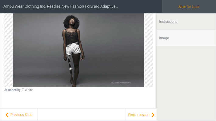 Ampu Wear Clothing Inc. Readies New Fashion Forward Adaptive Clothing Line for Adults with Disabilities
