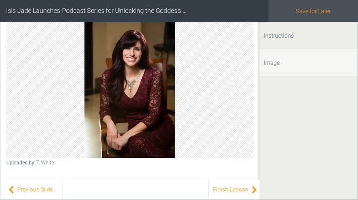 Isis Jade Launches Podcast Series for Unlocking the Goddess Code