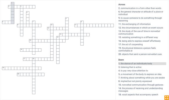 Module 6 Review Puzzle