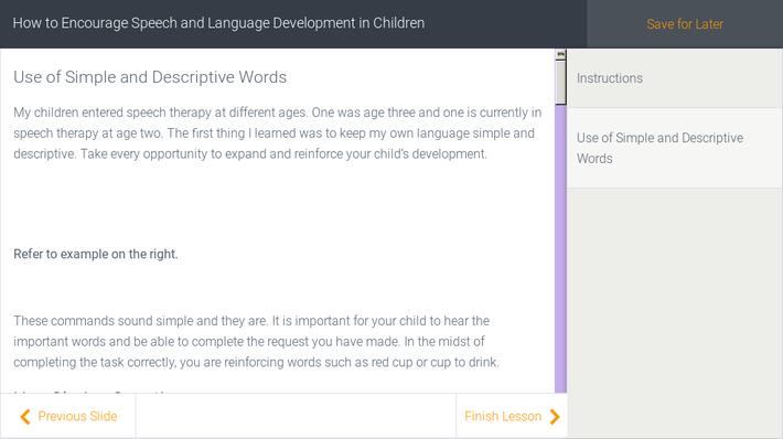 How to Encourage Speech and Language Development in Children