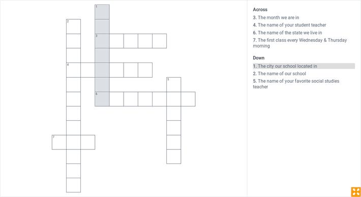 Sample Puzzle