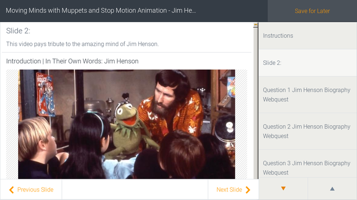Moving Minds with Muppets and Stop Motion Animation - Jim Henson Tribute