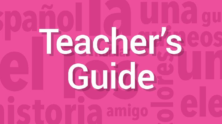 Conversation | Teacher's Guide | Supplemental Spanish Grades 3-5