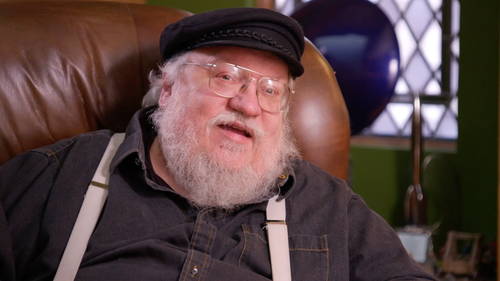 """George R. R. Martin Discusses """"Lord of the Rings"""" 