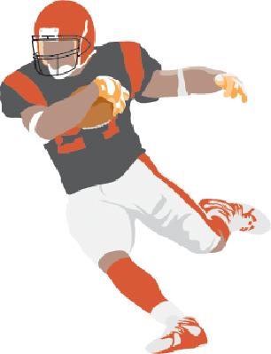 Football Player | Clipart