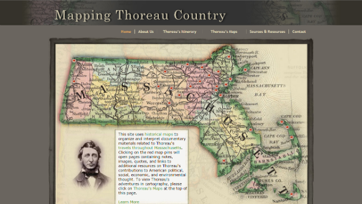 Mapping Thoreau County | Interactive Map
