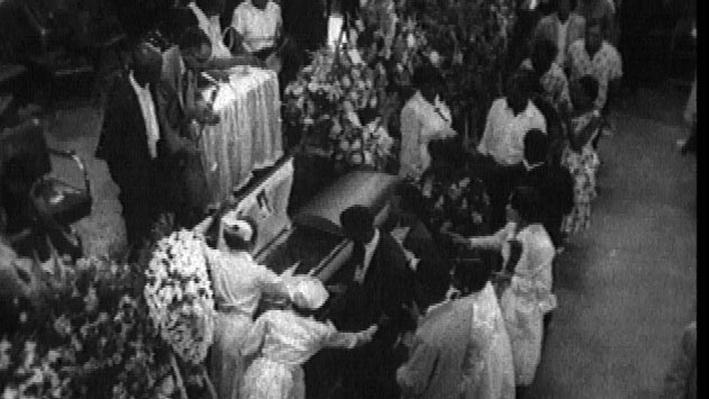 The Murder of Emmett Till- Emmett Till's Funeral