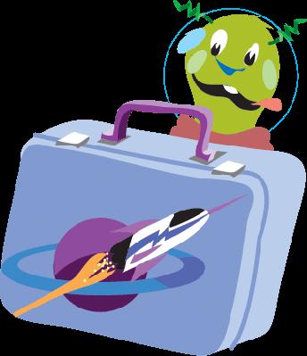 Lunchbox Martian C | Clipart