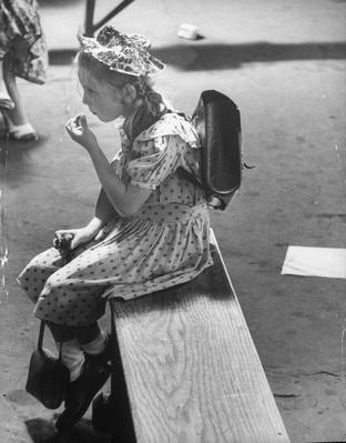 A child immigrant, who has just arrived in the US | U.S. Immigration | 1840's to present | U.S. History