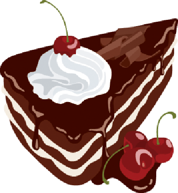 Black Forest Cake | Clipart