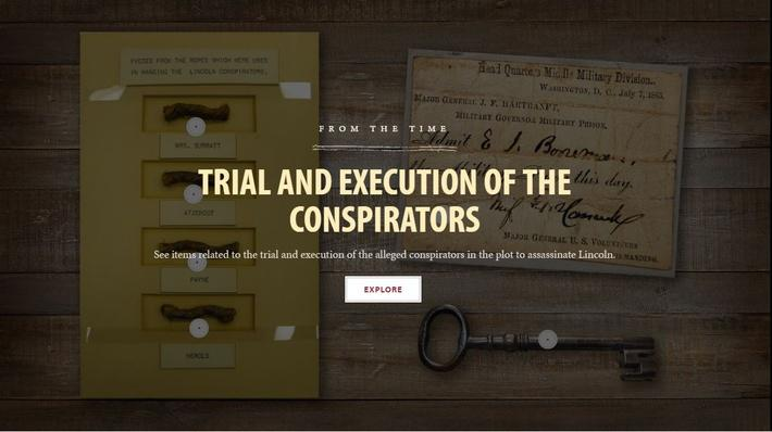 Trial and Execution of the Conspirators | Ford's Theatre