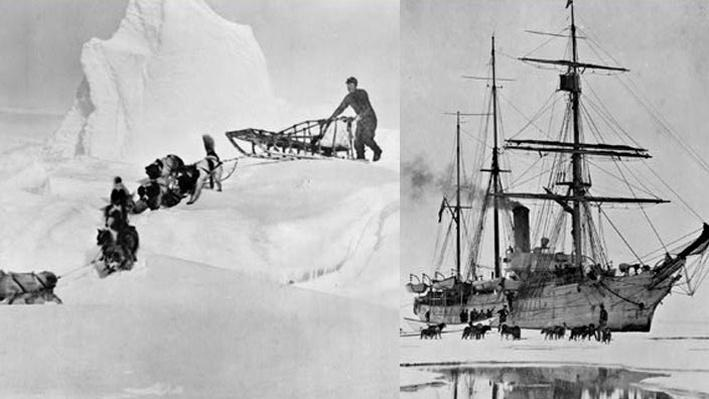 Early Exploration of Antarctic Climate