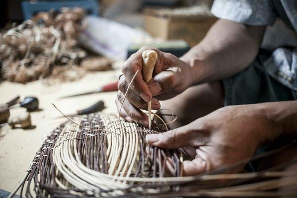 Basket Materials Come From a Local Forest   Global Oneness Project