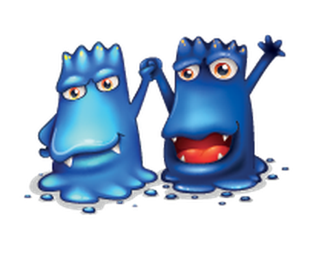 Couple monsters | Clipart