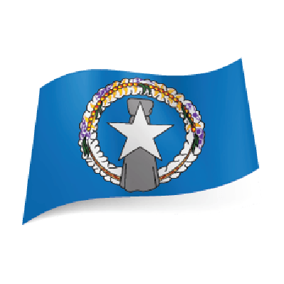 State Flag of Northern Mariana Islands | Clipart