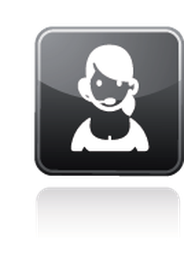 Professions - Customer-Service Representative | Clipart