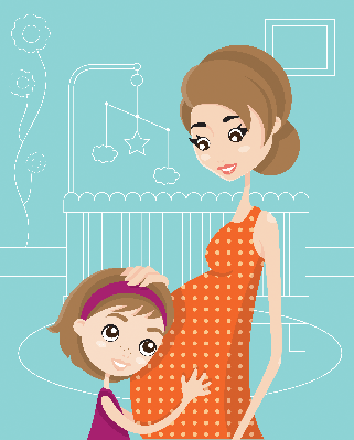 Baby on the Way | Clipart