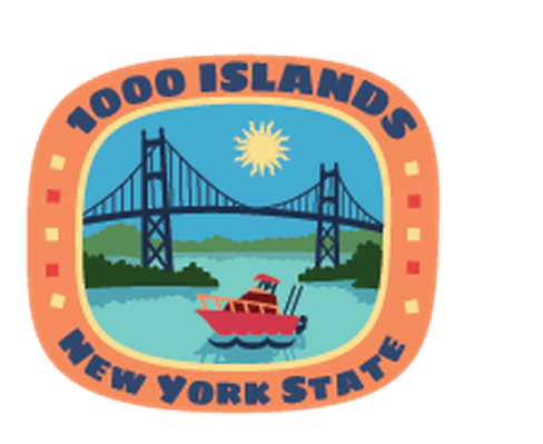 New York State Travel Stickers | Clipart