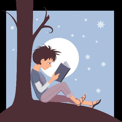 Joy of Reading | Clipart