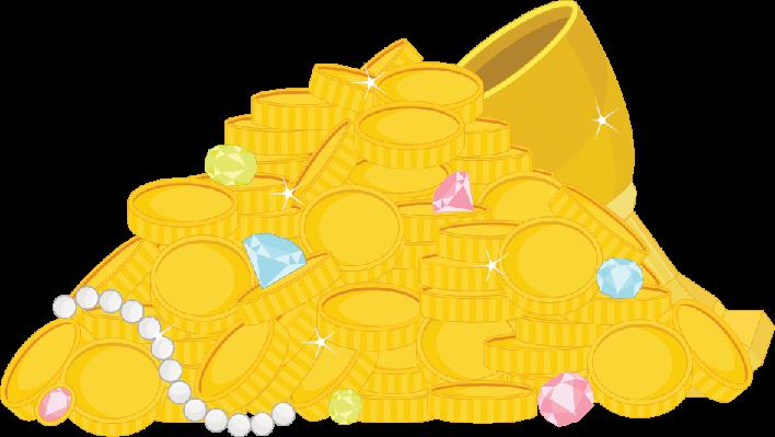 Gold Treasure | Clipart