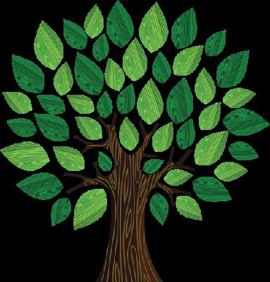Green Environment Concept: Tree Illustration | Clipart