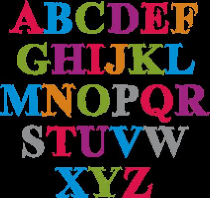 Handwritten Script: Alphabet Letters Set | Clipart