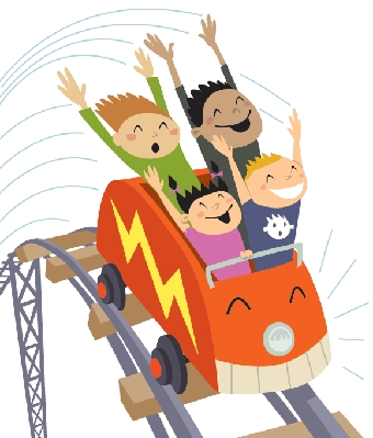 Roller Coaster 2 | Clipart | The Arts | Image | PBS ...