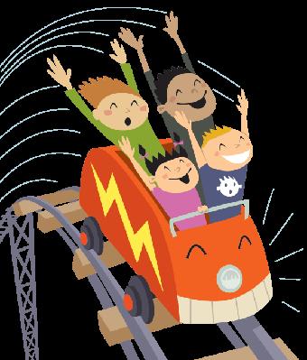 Roller Coaster 2 | Clipart