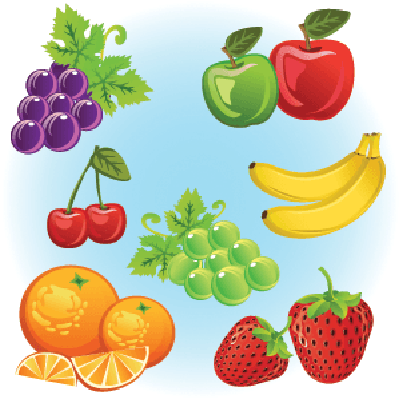 Fruits Collection | Clipart