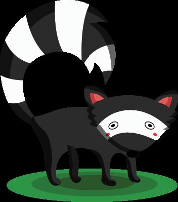 Cute Skunk | Clipart