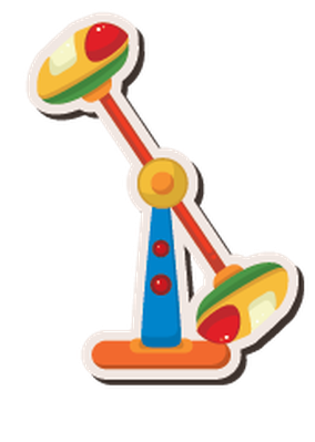 Playground Stickers - Set of 15 | Clipart