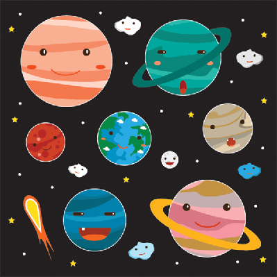 Planets, Characters: Object | Clipart