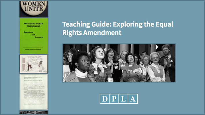 Teaching Guide: Exploring the Equal Rights Amendment