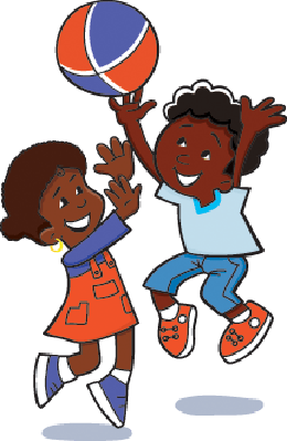 Kids Are Playing Ball | Clipart