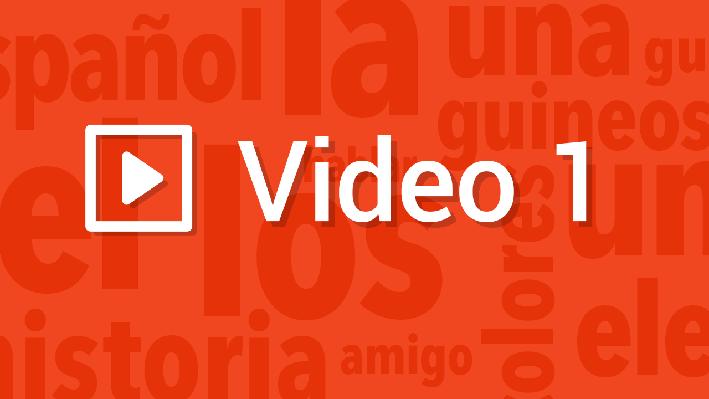 Cultural Practices - Conflicts | Pronunciation Video | Supplemental Spanish Grades 3-5